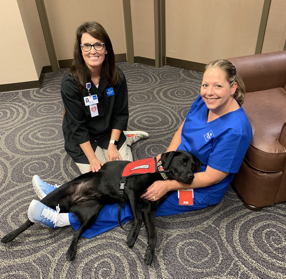 A Pup with a Purpose: Riverview Health's Therapy Dog