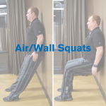 Air/Wall Squats