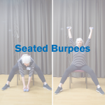 Seated Burpees