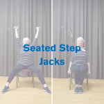 Seated Step Jacks