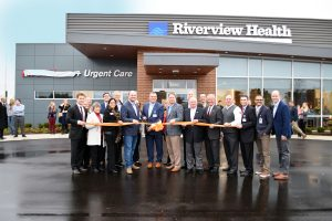 Riverview Health Emergency Room & Urgent Care—Fishers held a ribbon-cutting ceremony and open house for the public before officially opening in November 2019.