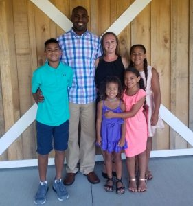 Annie Walker, FNP, is the proud mother of four children—one boy (12) and three girls (10, eight and six). Annie says being a mother is her biggest accomplishment in life.