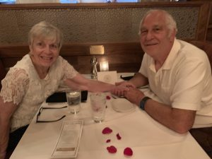 Sharon and John have been married for 54 years. They love to travel together—especially in their motorhome—and are excited to get back to their active lives after putting Sharon's cancer behind them.