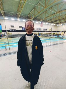 Jada is a busy teenager and athlete. She has been swimming competitively for seven years, and also enjoys singing in show choir, reading, writing and baking.