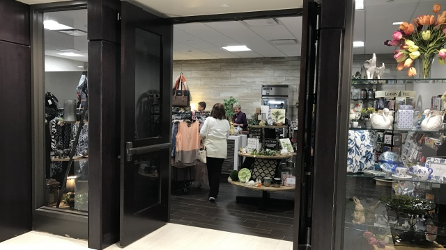 The Gift Shop at Riverview Health is located on the second floor near Starbucks in the atrium of our Noblesville hospital. The Gift Shop is proudly operated by Riverview Health Auxiliary members.